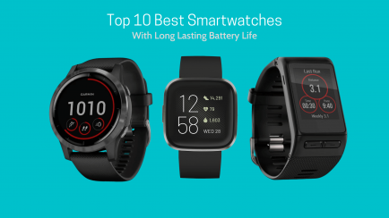 Top 10 Best Smartwatches With Long Battery Life in 2021
